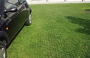 Sistema a griglia manti erbosi parcheggi