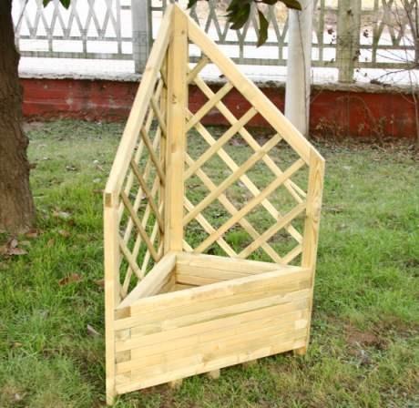 Vasi e fioriere in legno for Fioriera legno fai da te